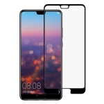 9H Silk Print Full Screen Tempered Glass Film for Huawei P20