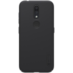 NILLKIN Frosted Concave-convex Texture PC Case for Nokia 4.2 (Black)