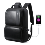 Bopai 851-007311 Business Anti-theft Waterproof Large Capacity Double Shoulder Bag,with USB Charging Port, Size: 31.5x16x44cm(Black)