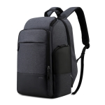 Bopai 851-014518 Business Waterproof Three-layer Large Capacity Double Shoulder Bag,with USB Charging Port, Size: 37x21x47.5cm (Black)