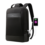 Bopai 851-023321 Large Capacity Anti-theft Waterproof Backpack Laptop Tablet Bag for 15.6 inch and Below, External  USB Charging Port (Black)