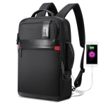Bopai 751-003151 Large Capacity Anti-theft Waterproof Backpack Laptop Tablet Bag for 15.6 inch and Below, External  USB Charging Port (Black)