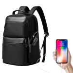 Bopai 851-020211 Three-layer Large Capacity Business Backpack Waterproof, Size: 35×22.5x44cm (Black)