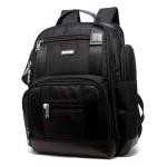 Bopai 11-85301 15.6 inch Large Capacity Multi-layer Zipper Bag Design Breathable Laptop Backpack, Size: 35 x 20 x 43cm (Black)