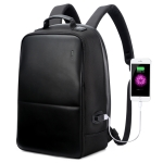 Bopai 751-004501 Large Capacity Scratch-proof Business Simplicity Breathable Laptop Backpack with External USB interface, Size: 30 x 16.5 x 45cm (Black)