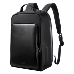 Bopai 751-005871 Large Capacity Scratch-proof Business Simplicity Breathable Laptop Backpack with External USB interface, Size: 30 x 14 x 45cm (Black)