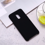 Ultra-thin Liquid Silicone Dropproof Protective Case for OnePlus 7 (Black)