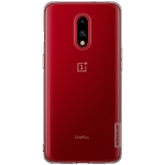 NILLKIN Nature TPU Transparent Soft Case for OnePlus 7 (Grey)