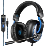 SADES R4 3.5mm Wired Gaming Headphone with Adjustable Microphone, Horn Diameter: 50mm, Length: 1.5m