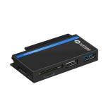 ROCKETEK RT-SGO727 USB 3.0 + USB 2.0 + Micro USB Interface Hub for Microsoft Surface Go, with 2 TF Card & SD Card Slots