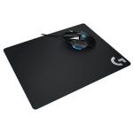 Logitech G440 Hard E-sport Gaming Mouse Pad, Size: 34 x 28cm (Black)