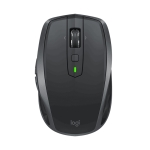 Logitech MX Anywhere 2S 4000DPI Bluetooth + Unifying Dual-mode Rechargeable Symmetrical Design Wireless Optical Gaming Mouse (Black)
