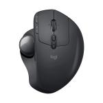Logitech MX ERGO 4000DPI 440DPI Bluetooth + Unifying Dual-mode Wireless Trackball Optical Mouse (Black)