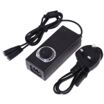 PULUZ Constant Current LED Power Supply Power Adapter for 60cm Studio Tent, AC 100-240V to DC 12V 3A(UK Plug)
