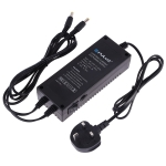 PULUZ Constant Current LED Power Supply Power Adapter for 80cm Studio Tent, AC 100-250V to DC 18V 3A (UK Plug)
