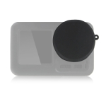 PULUZ Silicone Protective Lens Cover for DJI Osmo Action (Black)
