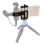 PULUZ Multifunction Aluminum Alloy Smartphone Fixing Clamp Expansion Holder Mount Bracket for DJI OSMO Pocket