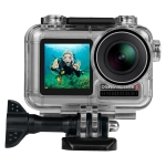 PULUZ 45m Underwater Waterproof Housing Diving Case for DJI Osmo Acition, with Buckle Basic Mount & Screw