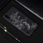 Lotus Pond Painted Pattern Soft TPU Case for Galaxy A10