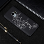 Lotus Pond Painted Pattern Soft TPU Case for Galaxy S9+