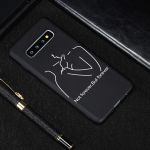 Distance Painted Pattern Soft TPU Case for Galaxy S10
