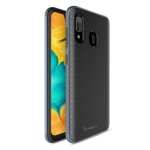 iPAKY Bumblebee PC Frame + TPU Case for Galaxy A30 (Blue)