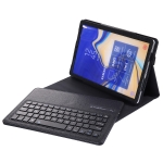 SA830 Bluetooth 3.0 Litchi Texture Detachable Bluetooth Keyboard Leather Case for Samsung Galaxy Tab S4 10.5 inch T830 / T835, with Holder (Black)
