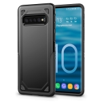 Shockproof Rugged Armor Protective Case for Galaxy S10 5G (Black)