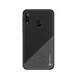 PINWUYO Honors Series Shockproof PC + TPU Protective Case for Galaxy A20E (Black)