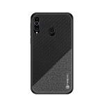 PINWUYO Honors Series Shockproof PC + TPU Protective Case for Galaxy A60 (Black)