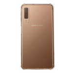 Shockproof TPU Protective Case for Galaxy A7 (2018) / A750 (Transparent)