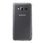 Shockproof TPU Protective Case for Galaxy J2 Prime (Transparent)