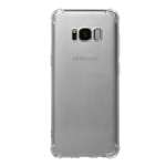 Shockproof TPU Protective Case for Galaxy S8 (Transparent)
