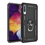 Armor Shockproof TPU + PC Protective Case for Galaxy A50, with 360 Degree Rotation Holder (Black)