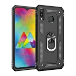 Armor Shockproof TPU + PC Protective Case for Galaxy M20, with 360 Degree Rotation Holder (Black)