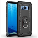 Armor Shockproof TPU + PC Protective Case for Galaxy S8, with 360 Degree Rotation Holder (Black)