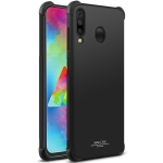 IMAK All-inclusive Shockproof Airbag TPU Case for Galaxy M30 / A40S, with Screen Protector (Black)