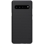 NILLKIN Frosted Concave-convex Texture PC Case for Galaxy S10 5G (Black)