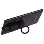 5V 3A Dual USB-C Digital Ring Holder Audio Adapter (Black)