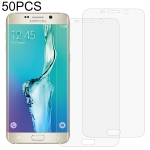 50 PCS 3D Curved Full Cover Soft PET Film Screen Protector for Galaxy S6 Edge+