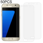 50 PCS 3D Curved Full Cover Soft PET Film Screen Protector for Galaxy S7