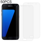 50 PCS 3D Curved Full Cover Soft PET Film Screen Protector for Galaxy S7 Edge