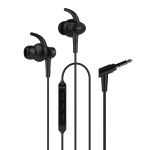 UiiSii HI-710 Universal HIFI IPX4 Waterproof Hanging Ear Sports In-Ear Earphone (Black)