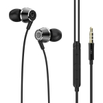 UiiSii HI-820 Universal HIFI Graphene Moving Coil In-Ear Earphone (Black)
