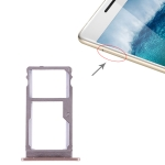 SIM Card Tray + SIM Card Tray for Lenovo K5 Note(Gold)