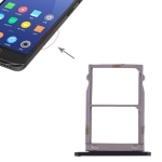 SIM Card Tray + SIM Card Tray for Lenovo ZUK Z2 (Black)
