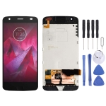 LCD Screen and Digitizer Full Assembly with Frame for Motorola Moto Z2 Force XT1789 (Black)