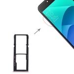 SIM Card Tray + SIM Card Tray + Micro SD Card Tray for Asus Zenfone 4 Selfie ZD553KL / ZB553KL (Gold)