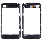 Back Plate Housing Camera Lens Panel for Blackberry Q20 (Black)