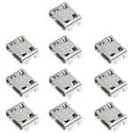 10 PCS Charging Port Connector for Galaxy G355 G313 A8 A8000 A800F J1 J120 J210F